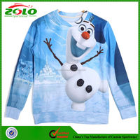 Hot Selling 2015 Grils Sublimation Fashion 5xl Hoodies