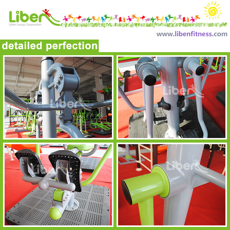 samples from outdoor fitness equipment supplier
