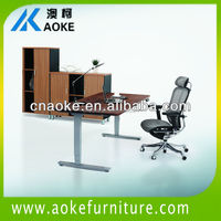 height adjustable executive desk sitting and standing