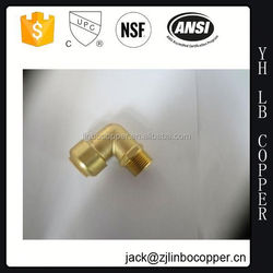 Forged Brass Pipe Fitting & 90 degree elbow