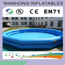 Large inflatable pool for sale, inflatable pool float water toys for adults and kids, blue inflatable pool