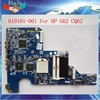 100% Working Motherboard For HP G62 CQ62 Laptop Motherboard AMD DDR3 Non-Integrated 610161-001