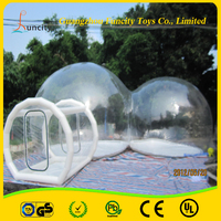 Commercial Outdoor Inflatable Transparent Dome Tent,Inflatable Bubble Room,Inflaatble Bubble Show Tent