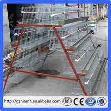 4 tiers can feed 128 birds chicken layer cage/poultry cage(Guangzhou Factory)