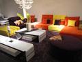 Amerikan ev mobilya/renkli kesit kanepeler kumaş 2015/güzel ve süslü ev kullanılan koltuk takımı 8296