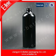 500ml spray black bottles , aluminium bottle manufacturer