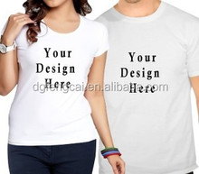Hot Sale white dry fit Couple love t shirt