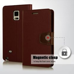 High Quality Leather Flip Case For Samsung Galaxy Note 2