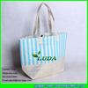 LUDA Wholesale Paper Straw Handbag Colorful Metallic Fabric Straw Bag