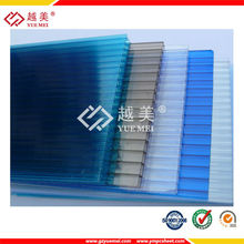pc plastic material policarbonato hollow roofing sheet for roofing corrugated waving roofing sheet