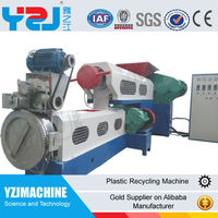YZJ Ce approved pp pe film recycling machine