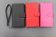 Chinese factory leather book style case for SONY Z4