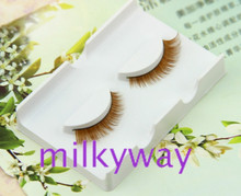 hot sale thick and natural hand made horse fur eyelash