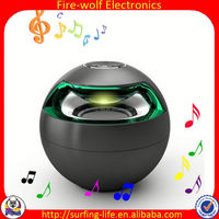 2015 natural design Round Potable Bluetooth Speaker as Israel Souvenirs Gifts