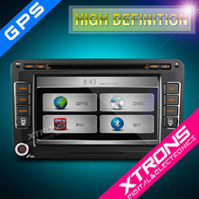 "Xtrons New Series--7"" HD Touch Screen DVD Player with GPS Navigation Dual Channel CANbus for Volkswagen / Skoda / Seat"