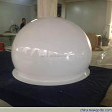 wholesale 50mm acrylic half round ball