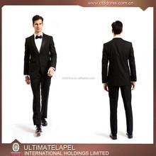 2015 Latest designed satin suit for men
