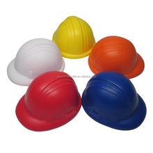 Promotional hard hat PU stress relief toys