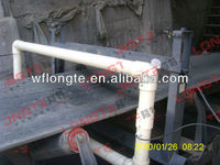 Tunnel type conveyor belt iron ore metal detector