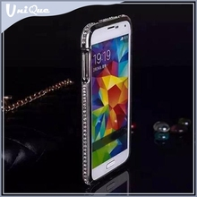 Fashion metal back cover for samsung galaxy note 3,Heavy dust diamond bumper case for samsung galaxy note gt n7000