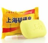 Новый Шанхай серы мыло 4 кожи условий акне псориаз себорея экземы анти-85g дешевый 1 кусок гриба