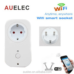 European standard Home Automation Wifi Remote Control Socket 1WJ-AH0P-A