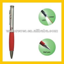 3 in 1 LED Light With Red Laser Point Pen