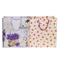 Different Pattern Cloth Packaging Carrying Bag with String for Garment