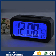 wholesale china led desk alarm clock , cheap plastic custom table digital clock