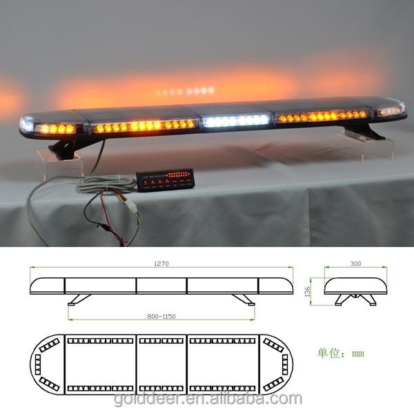 New slim amber emergency warning light bar led lightbar for tow dsc0286g aloadofball Gallery