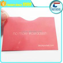 Anti Scan credit card Blocking rfid Sleeve ID Protector Secure IC Bank Info