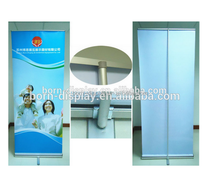 2014 Promotion Cheap Aluminum Body One Feet Stand Single PVC Graphic 80*200CM Roll Up Banner Printing
