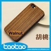 New products natural wood cell phone case for iphone 5s walnut case