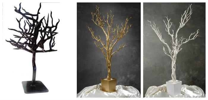 Artificielle arbre tronc sans feuilles faux mort