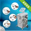 E light + IPL + RF + nd yag laser machine with four handles