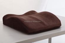 100% Visco Memory Foam Coccyx Seat Cushion,driver SEAT cushion memory foam