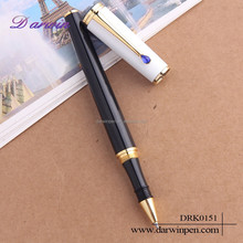 Eco-friendly and bling diamond accessories metal roller pen for gift