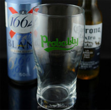 Wholesale personalized beer glass ,beer glassware , pint glass with custom logo