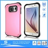 Crystal Clear silicone rubber phone case for samsung galaxy s6