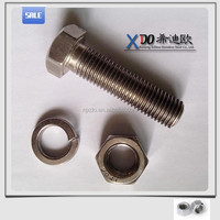 UNS31603 /316L special stainless steel hex bolt&nut 317L. 316Ti