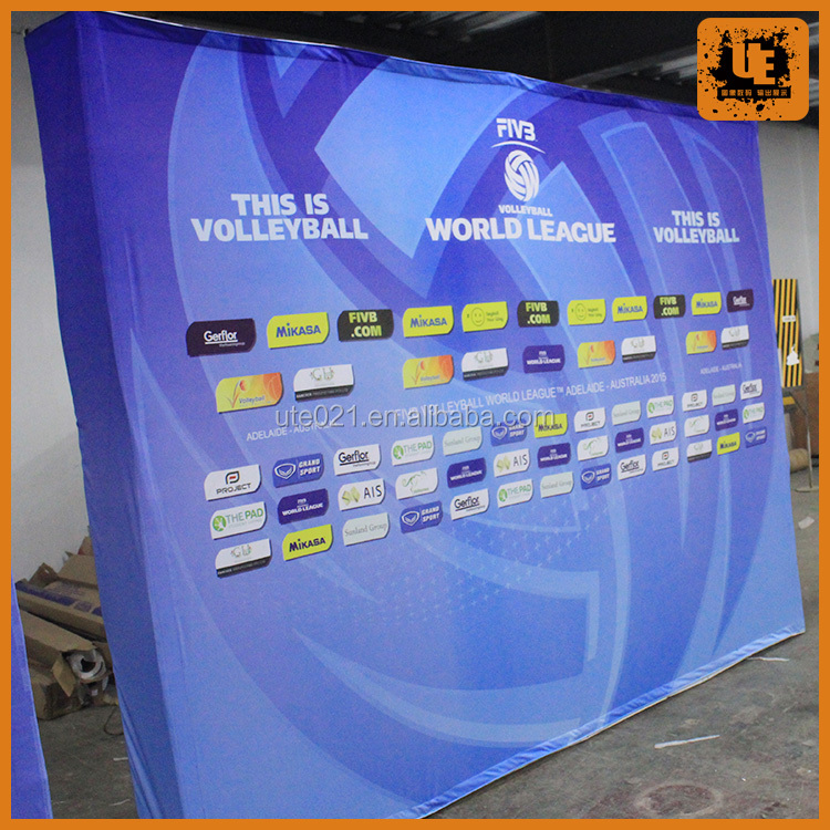 sports and event backdrop advertising banner pop up display stands
