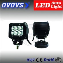 OVOVS double row 4inch 1800lm police led light bars IP67 for motorcycle, truck