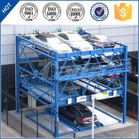 psh 4 layer rotary smart cheap classical car parking lot equipment