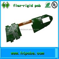 rigid-flexible board design and manufacture flex-rigid printed circuit board
