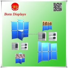 Factory direct sell various combinations cheap folding screen with KT back board