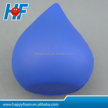 pu promotional cheap gifts water drop stress ball