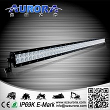 Made in China AURORA 50inch double row 500W led light 2 inch 12v off road