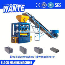 QT4-24 Semi Automatic Machine For Making Concrete Blocks