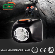 Good quality and quick delivery 4500 lux light degree rechargeable mining lamp