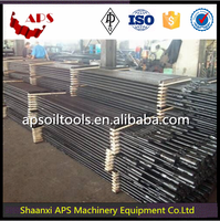 Oilfield API 11B Hollow/Solid Sucker Rod for oil & gas well production/Polish Rod/Pony Rod AISI 4130,4330 for drilling